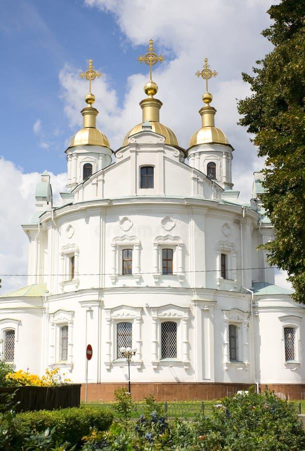 Orthodox church in Poltava stock images