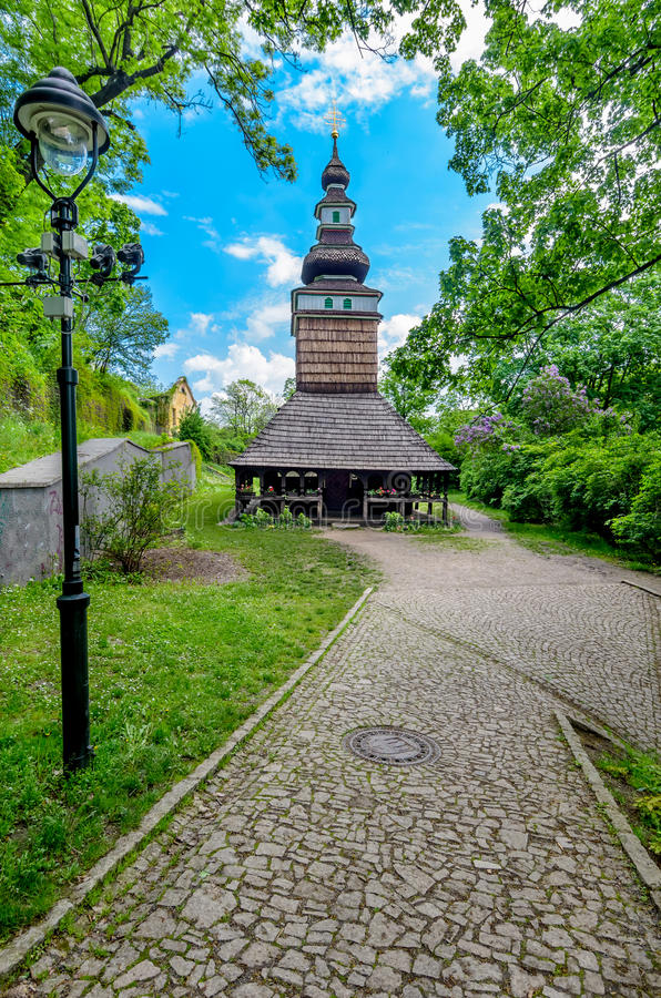 Orthodox church in Prague royalty free stock photos