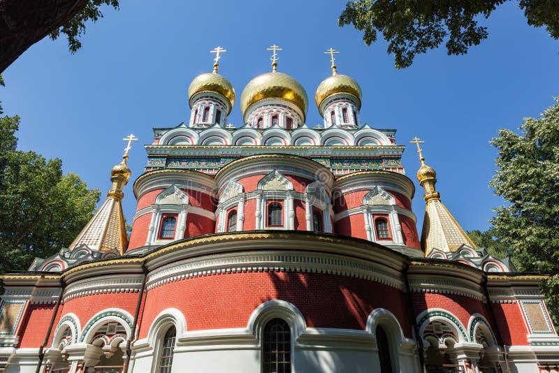 Orthodox Church Rozhdestvo Hristovo in Bulgaria royalty free stock photography
