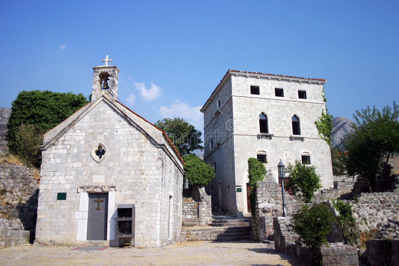 Download Orthodox Church At Ruins Of Old City Bar Stock Photo - Image: 21564544