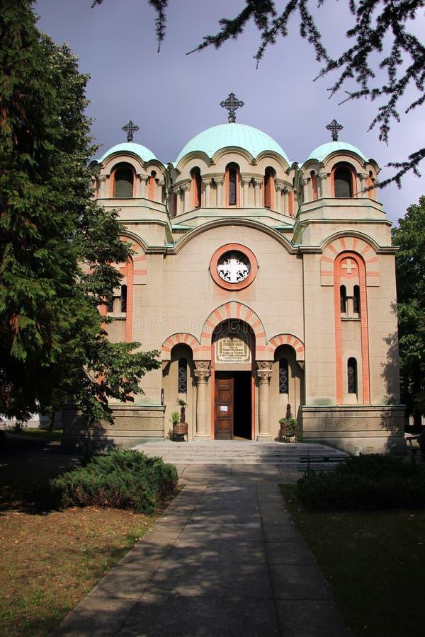 Orthodox Church of St. Archangel Gabriel royalty free stock photography