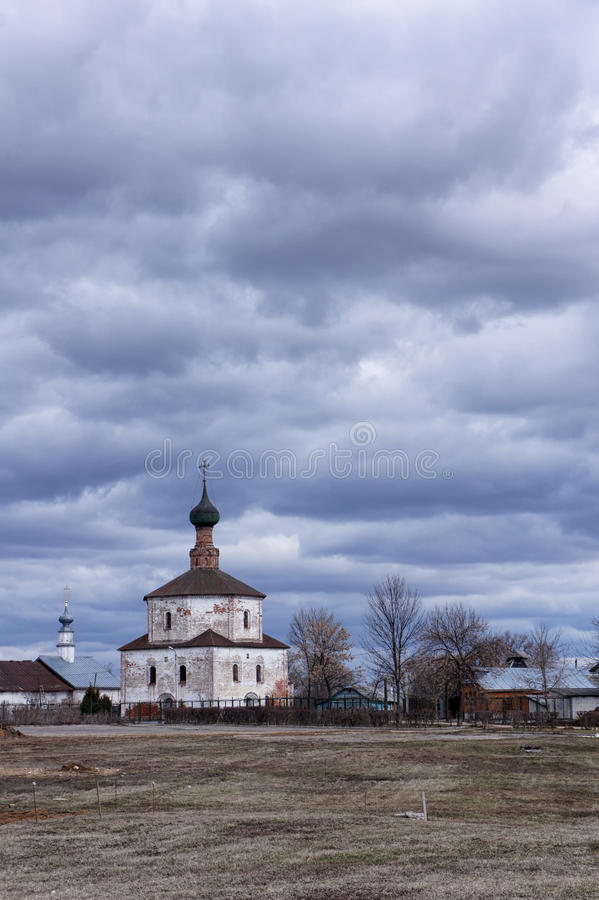 Orthodox church in Suzdal royalty free stock photography