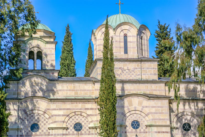 Orthodox Church in Tivat, Montenegro royalty free stock photography