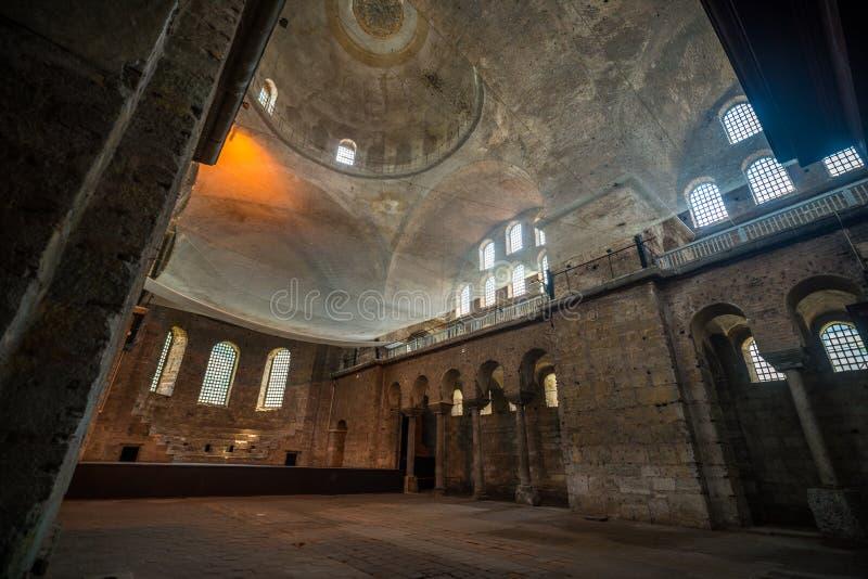 Orthodox church Turkey. Holy Irene Iglesia in Istanbul, Turkey stock photography
