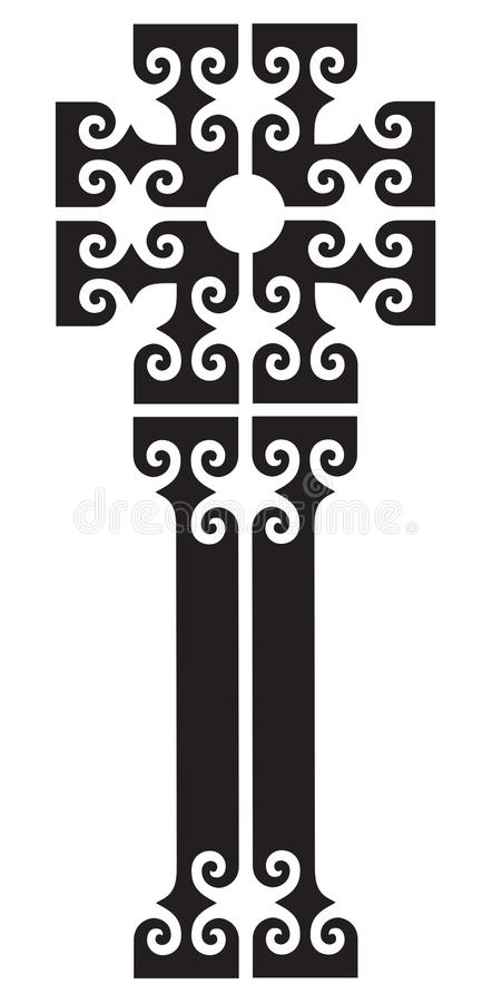 Download Orthodox Cross stock vector. Image of orthodox, christian - 12960149
