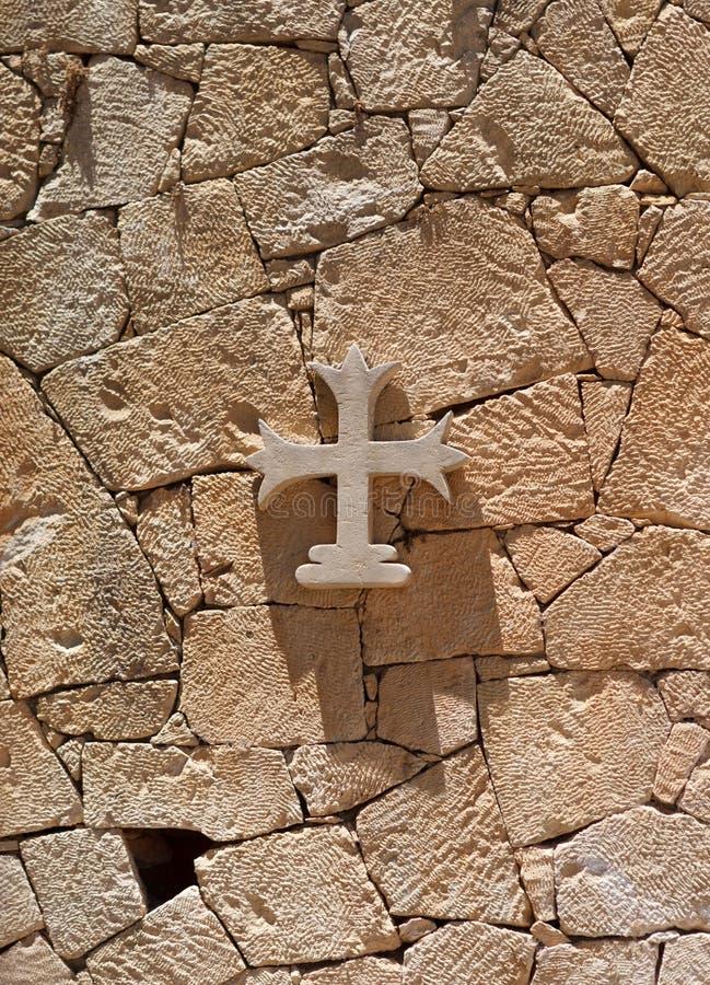 An orthodox cross. stock photos
