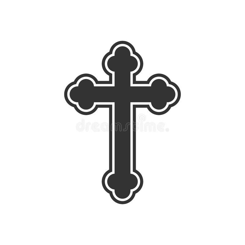 Free Orthodox Cross Icon. Flat Design. Vector Illustration Royalty Free Stock Photography - 137600677
