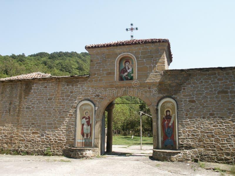 Orthodox Entrance. In Kilifarevo Monastery royalty free stock images