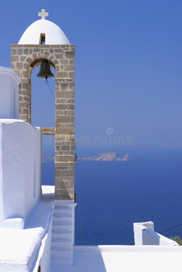 Download Orthodox Greek Church Bell Tower Stock Photo - Image: 34497944