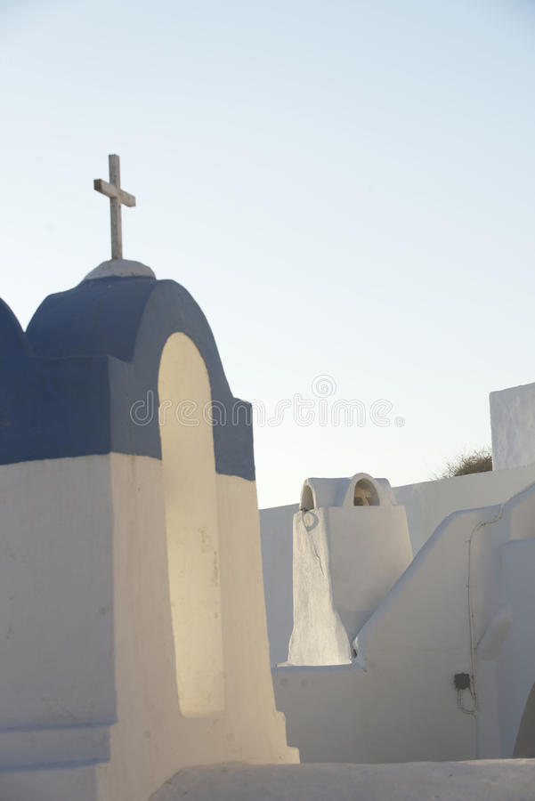 Orthodox Greek church stock image
