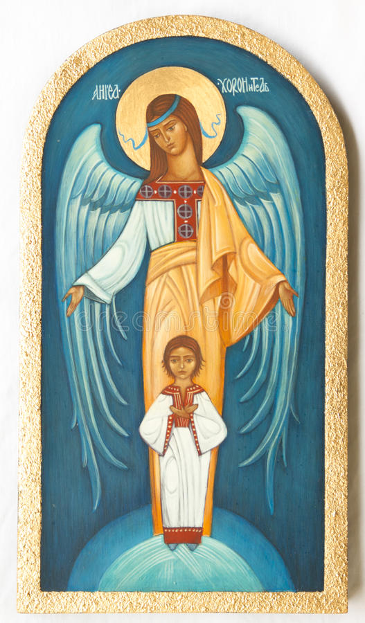 Orthodox icon stock image