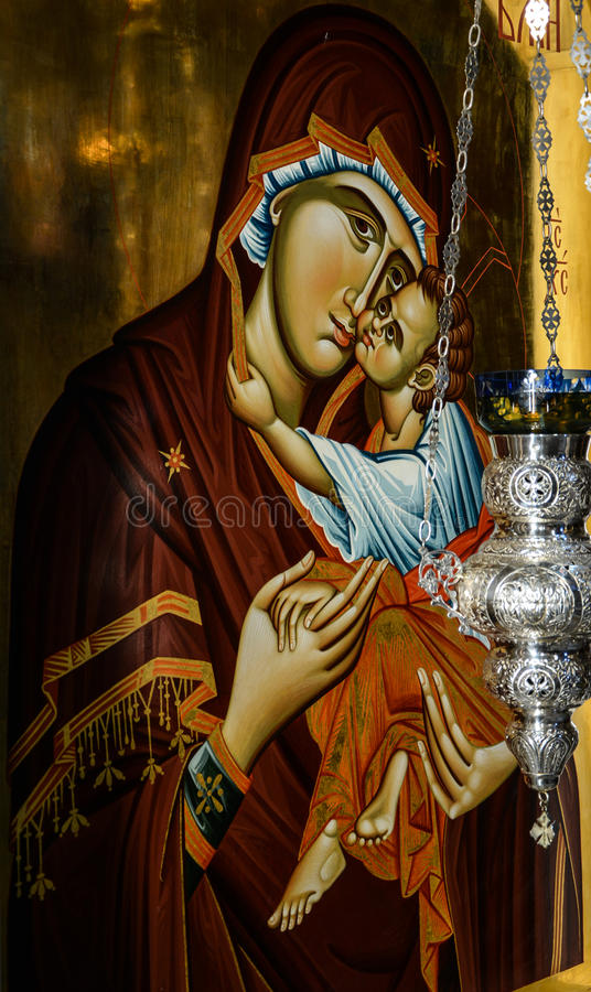 Download Orthodox Icon Stock Photo - Image: 39138702