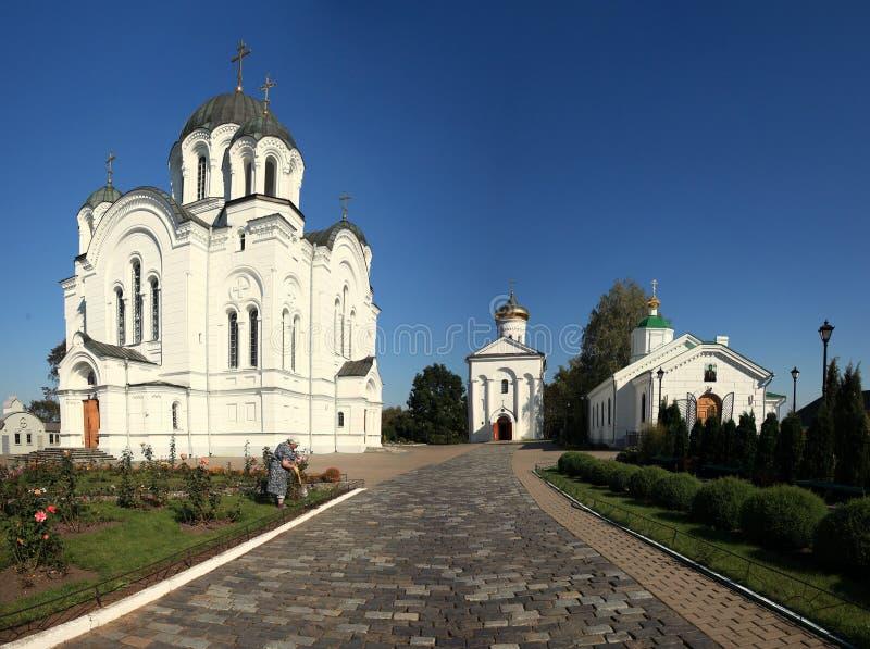 Orthodox klooster stock afbeeldingen