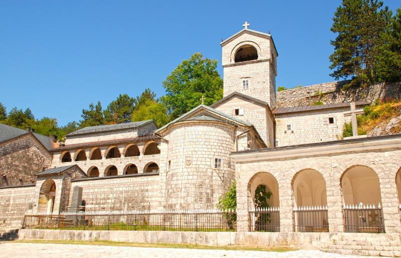 Orthodox klooster in Cetinje, Montenegro royalty-vrije stock afbeeldingen