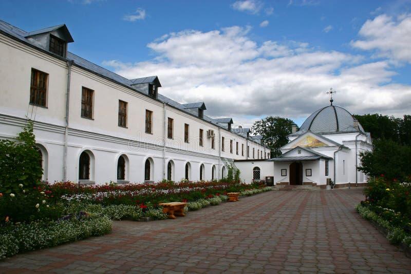 Orthodox Klooster van Sinterklaas stock fotografie
