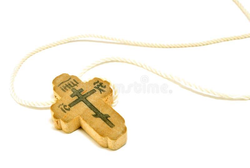 Orthodox kruis stock foto