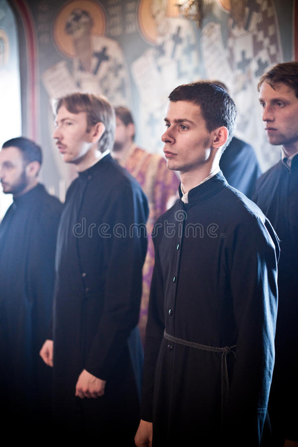 Download Orthodox Liturgy With Bishop Editorial Stock Image - Image of matin, holiday: 21285789