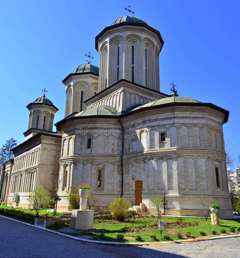 Orthodox monastery stock photo
