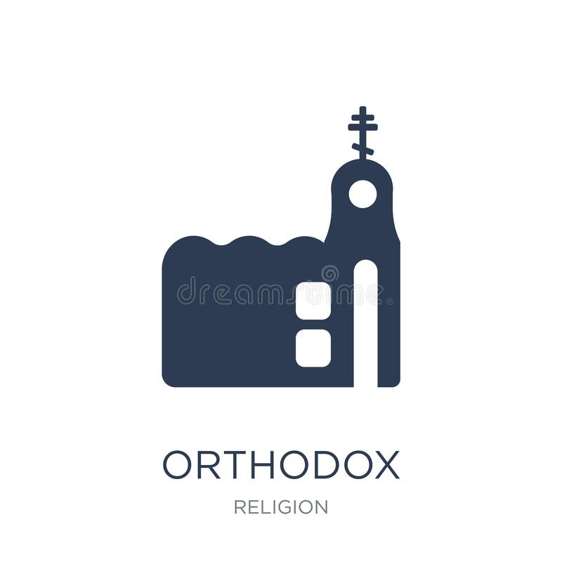 Orthodox pictogram  vector illustratie