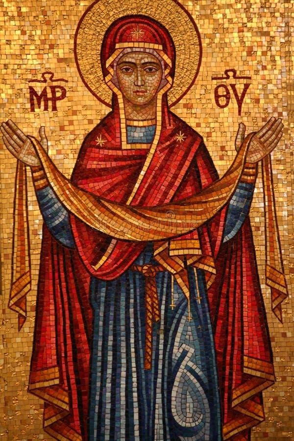 Orthodox Pictogram stock afbeeldingen