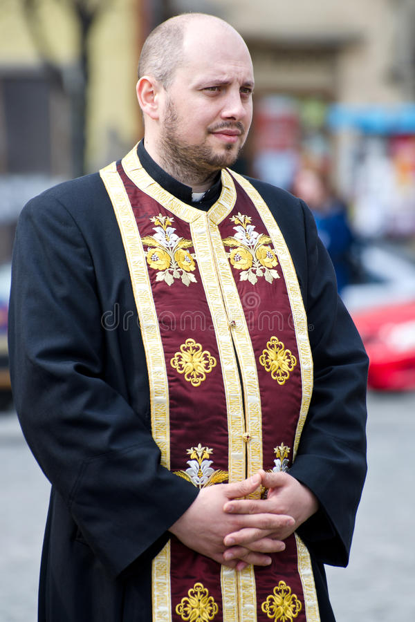 Orthodox Priest Editorial Stock Image