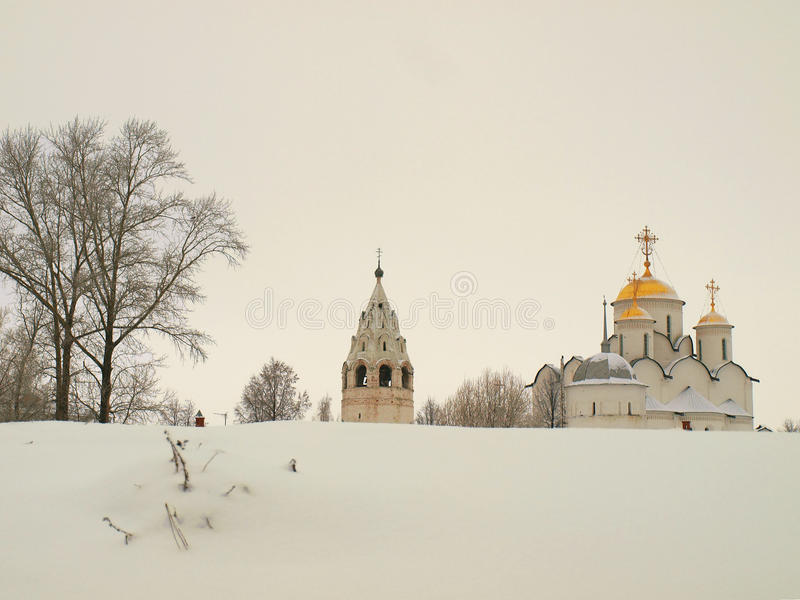 Download Orthodox Russia. Ancient Cathedral In A Pokrovskiy Royalty Free Stock Photo - Image: 12906545