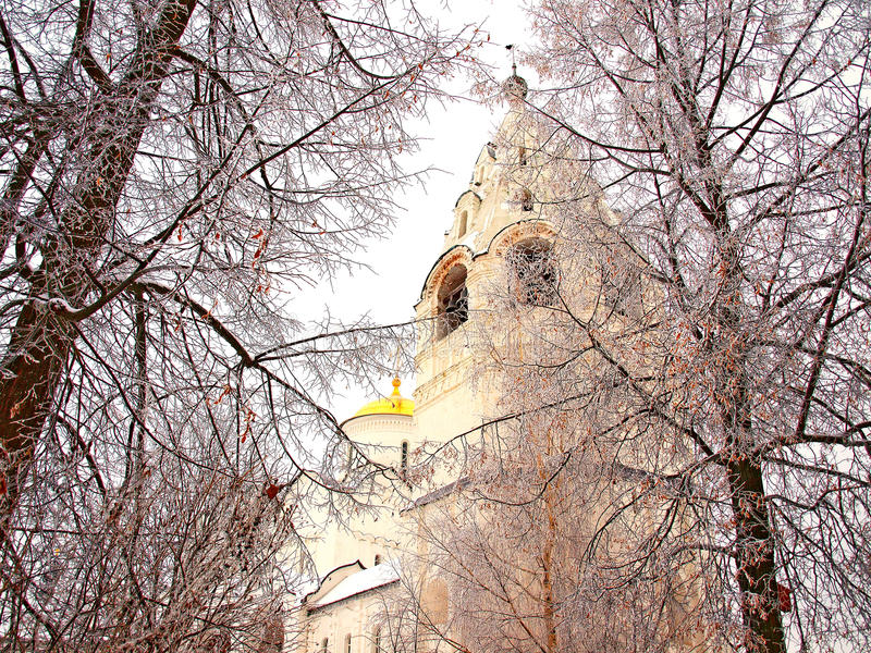 Download Orthodox Russia. Ancient Cathedral In A Pokrovskiy Stock Image - Image: 13290439