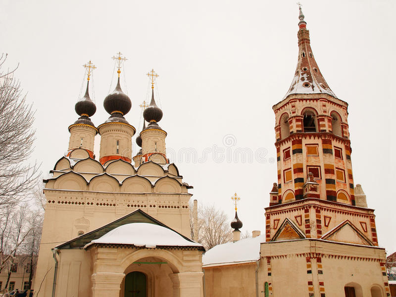 Orthodox Russia. Church and belltower