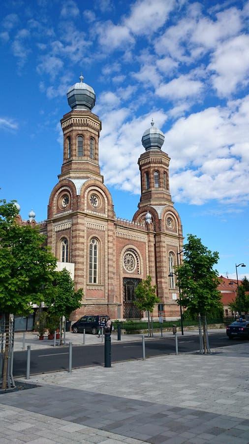 Zsinagoga Szombathely. Orthodox synaqoque in Szombathely royalty free stock photography