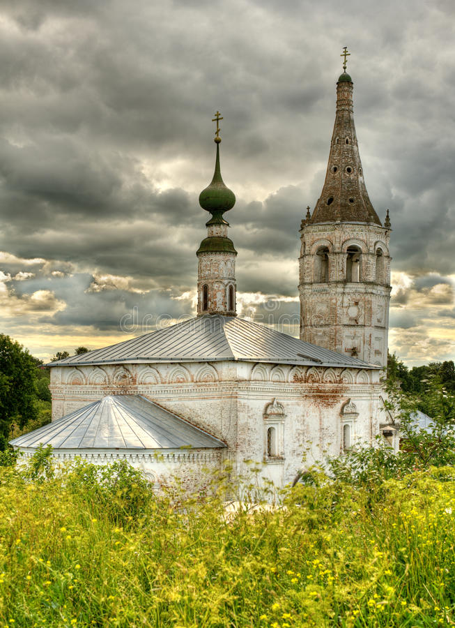 Download Orthodox temple stock photo. Image of grass, summer, ancient - 10832892