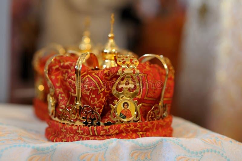 Orthodox Wedding Accessories Royalty Free Stock Image
