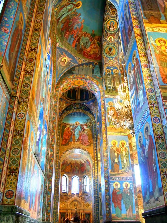 Orthodoxe kathedraal royalty-vrije stock fotografie