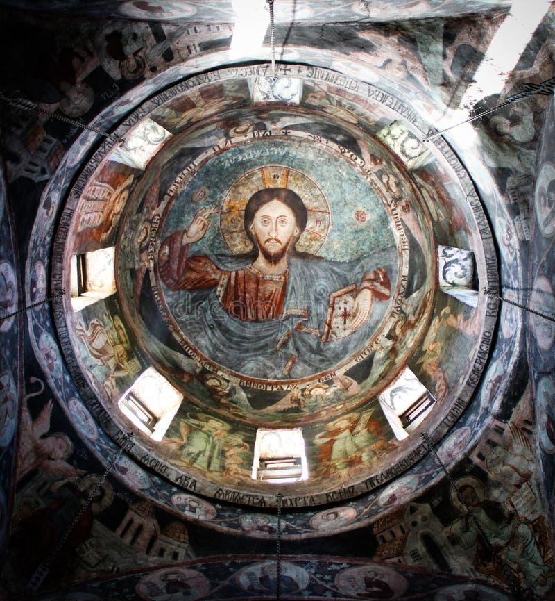 Orthodoxe kathedraal stock afbeelding