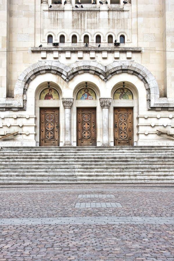 Orthodoxe Kathedrale stockfotos