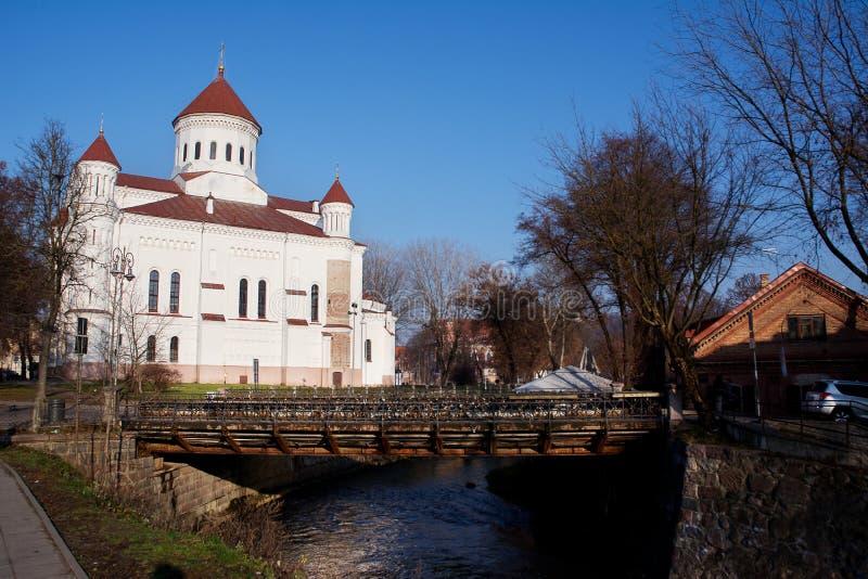 Orthodoxe Kathedrale des Theotokos, stockfotos