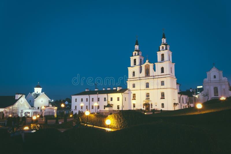 Orthodoxe Kathedrale von Heiliger Geist in Minsk, Weißrussland stockfotos