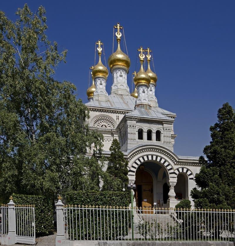 Orthodoxe kerk 11 stock foto