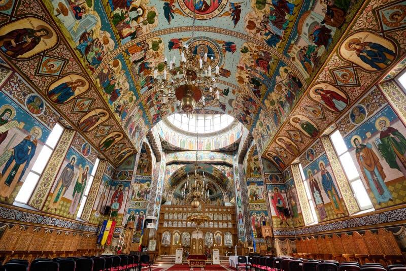 Orthodoxe Kerk in Brasov royalty-vrije stock foto's