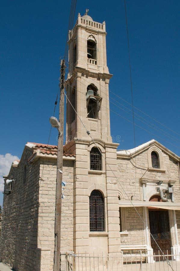 Orthodoxe Kerk in Limassol stock afbeelding