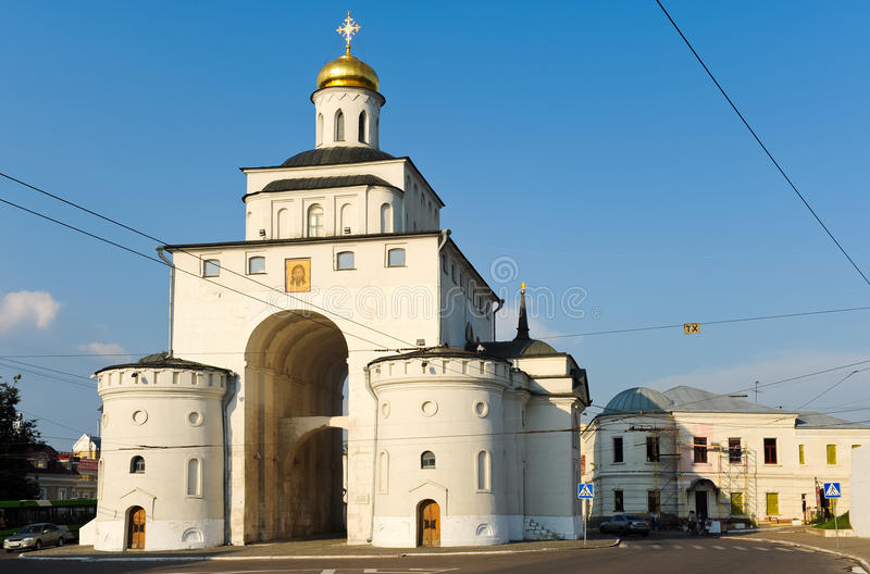 Orthodoxe Kerk in Moskou royalty-vrije stock fotografie