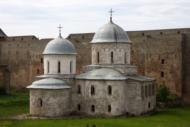 Orthodoxe Kerk in Rusland stock fotografie