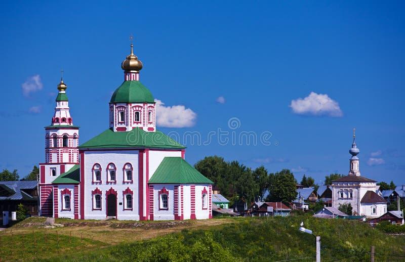 Orthodoxe kerk Suzdal stock foto