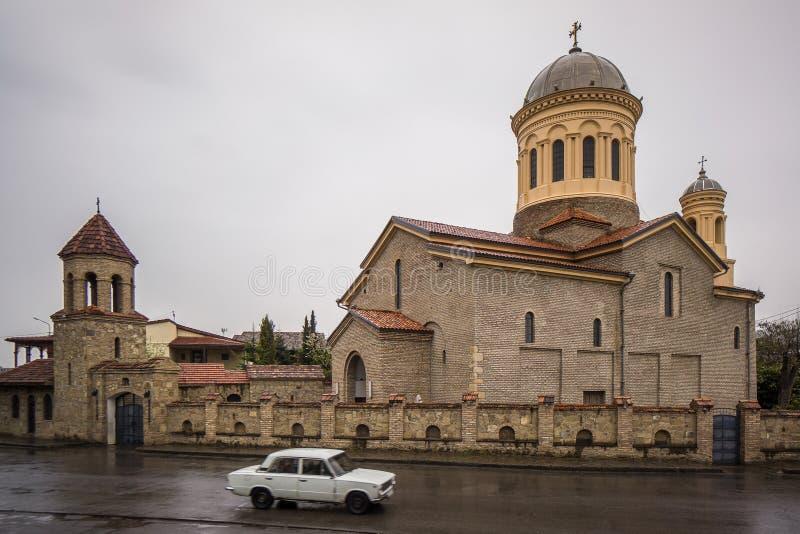 Orthodoxe kerk van gori royalty-vrije stock afbeelding