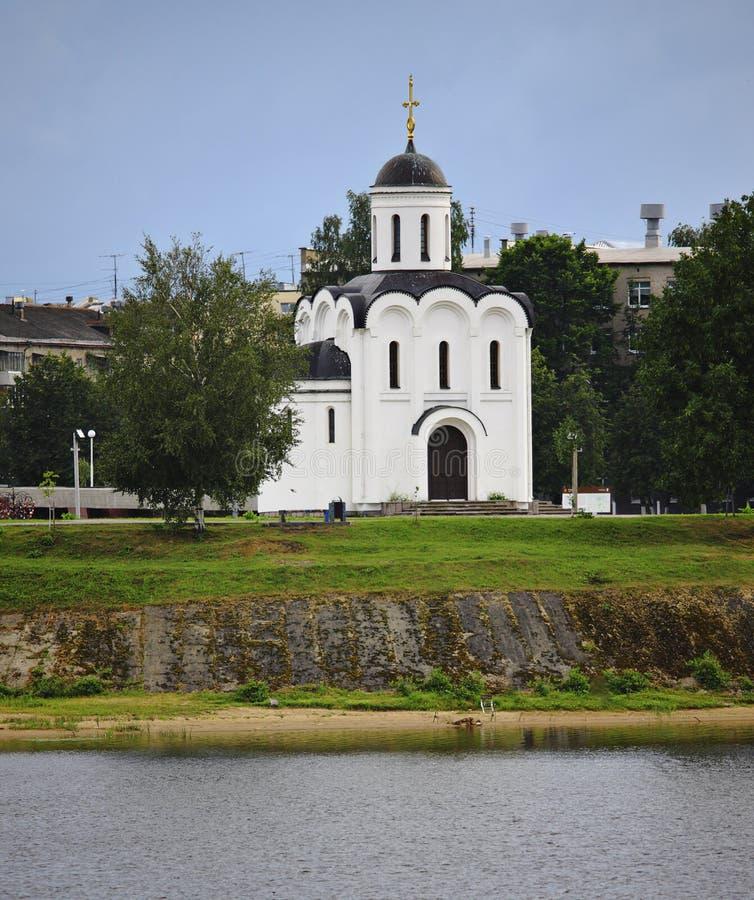 Orthodoxe kerk van St Michael van Tver stock afbeelding