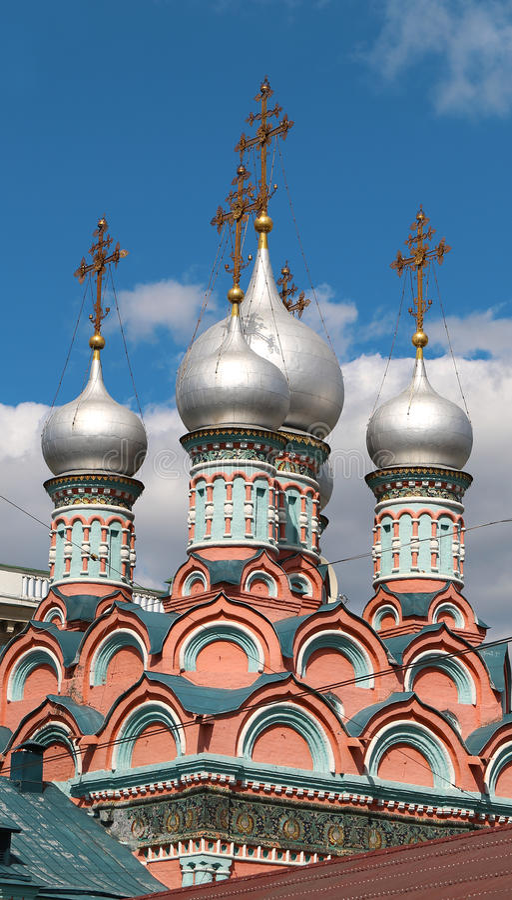 Orthodoxe Kerken royalty-vrije stock foto's