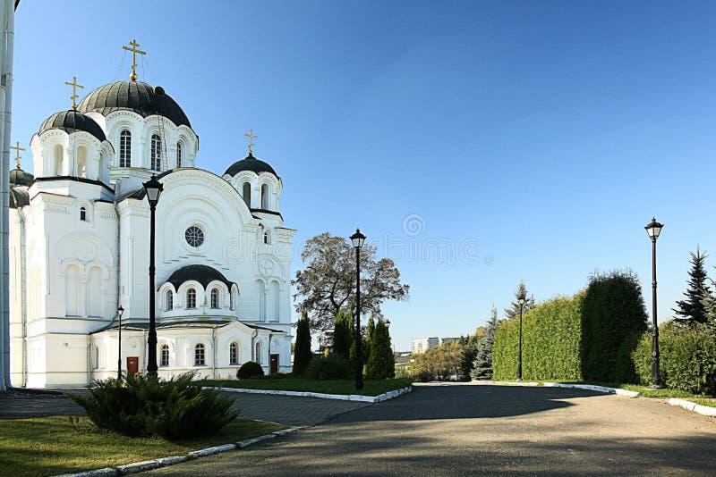 Orthodoxe kerktempel royalty-vrije stock afbeeldingen