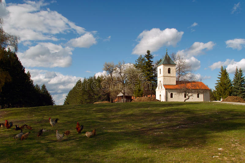 Orthodoxe kerkzlatibor royalty-vrije stock fotografie