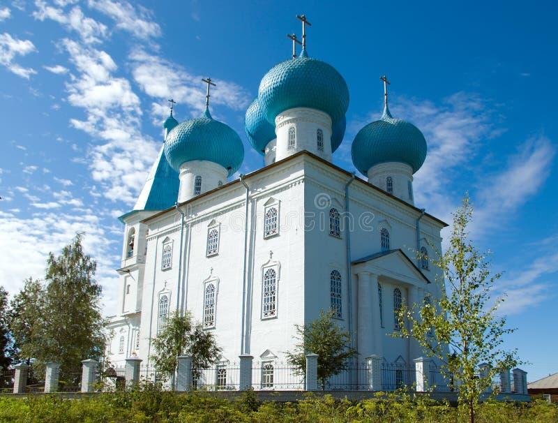 Orthodoxe Kirche. Arkhangelsk stockfotografie