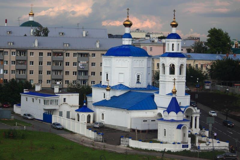 Orthodoxe Kirche des Heiligen Paraskeva Pyatnitsa herein stockbilder