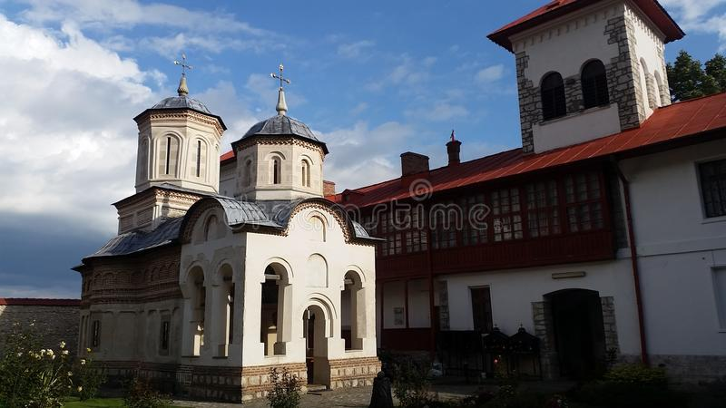 Orthodoxe Kirche von Albota-Kloster stockfotografie